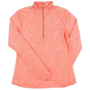 Nike Reflective 1/4Zip Dry Element Top Crimson NWD